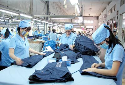 Textile-habillement: les exportations en hausse de 11% au 1er trimestre