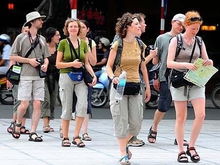 Hausse continue du nombre de touristes européens au Vietnam