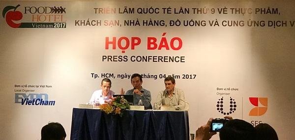 HCM-Ville: 520 entreprises à l'exposition Food&Hotel Vietnam 2017