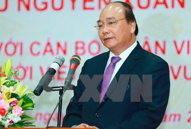 Le PM Nguyen Xuan Phuc poursuit ses activités au Cambodge