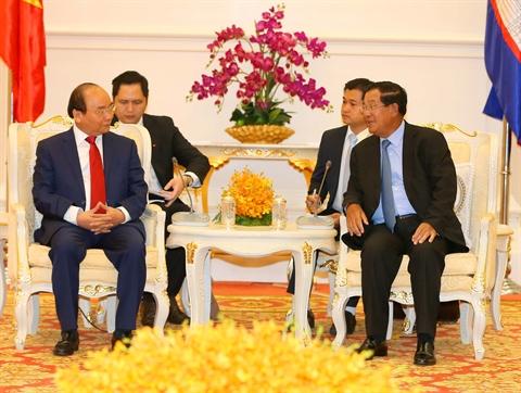 Déclaration commune Vietnam - Cambodge