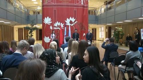 Des étudiants vietnamiens en Russie saluent l