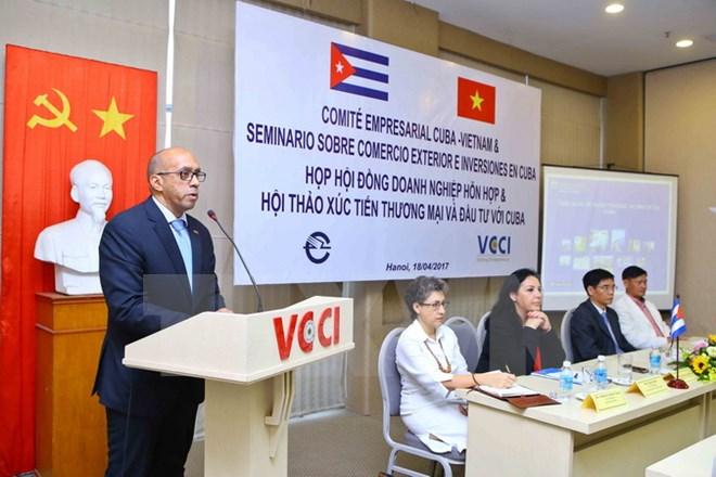 Cuba, un marché potentiel pour les entreprises vietnamiennes