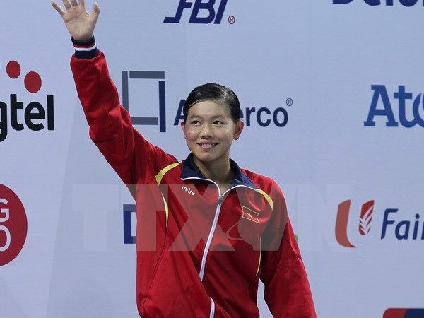 Une nageuse vietnamienne gagne l