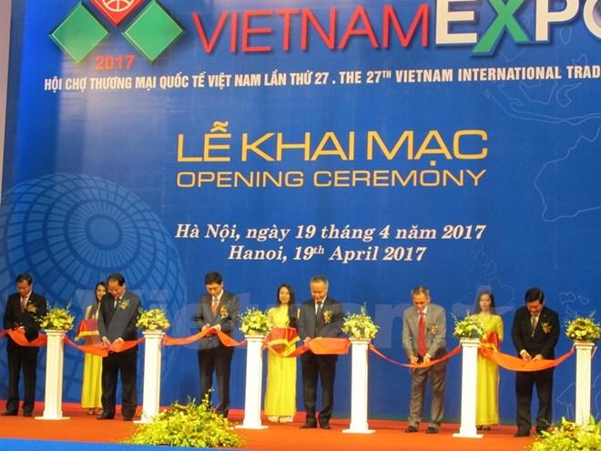 Ouverture de la foire Vietnam Expo 2017