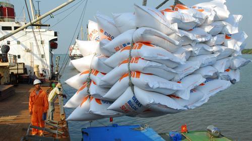 Bond des exportations nationales de produits agricoles au premier trimestre