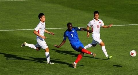 Mondial U20 : le Vietnam battu 4-0 par la France