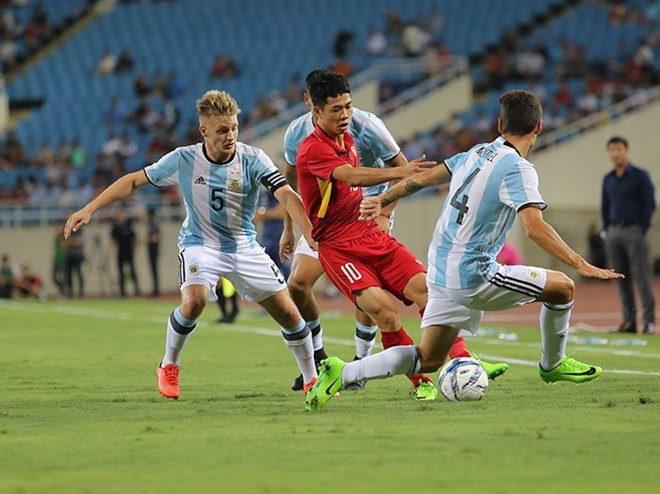 Le match amical U22 Vietnam-U20 Argentine se termine au score 0-5