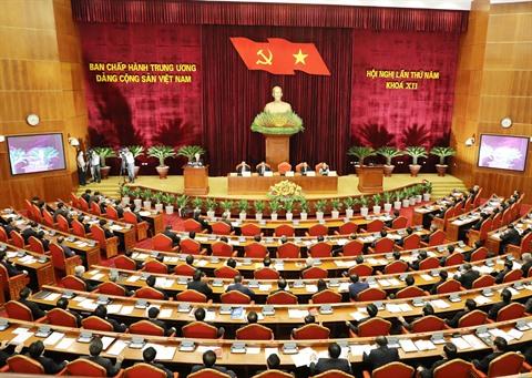 Troisième journée de travail du 5e plénum du Comité central du Parti