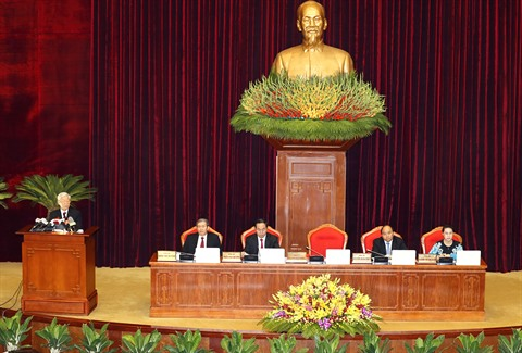 Deuxième journée du 5e plénum du Comité central du Parti communiste vietnamien