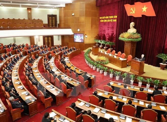 Clôture du 5e plénum du Comité central du PCV, 12e exercice