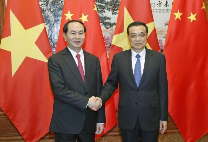 Le Président Trân Dai Quang rencontre plusieurs dirigeants chinois