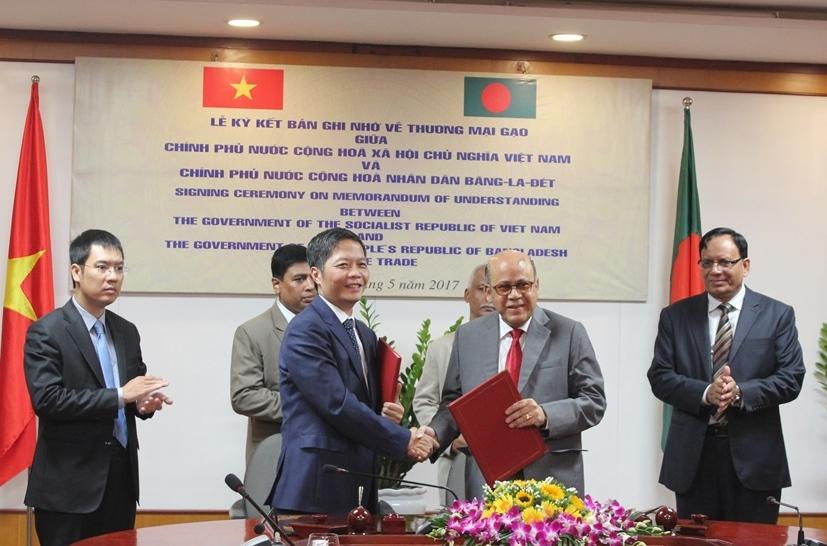 Le Vietnam exportera vers le Bangladesh un million de tonnes de riz par an
