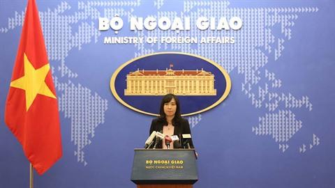 Truong Sa: le Vietnam demande aux parties concernées de respecter sa souveraineté