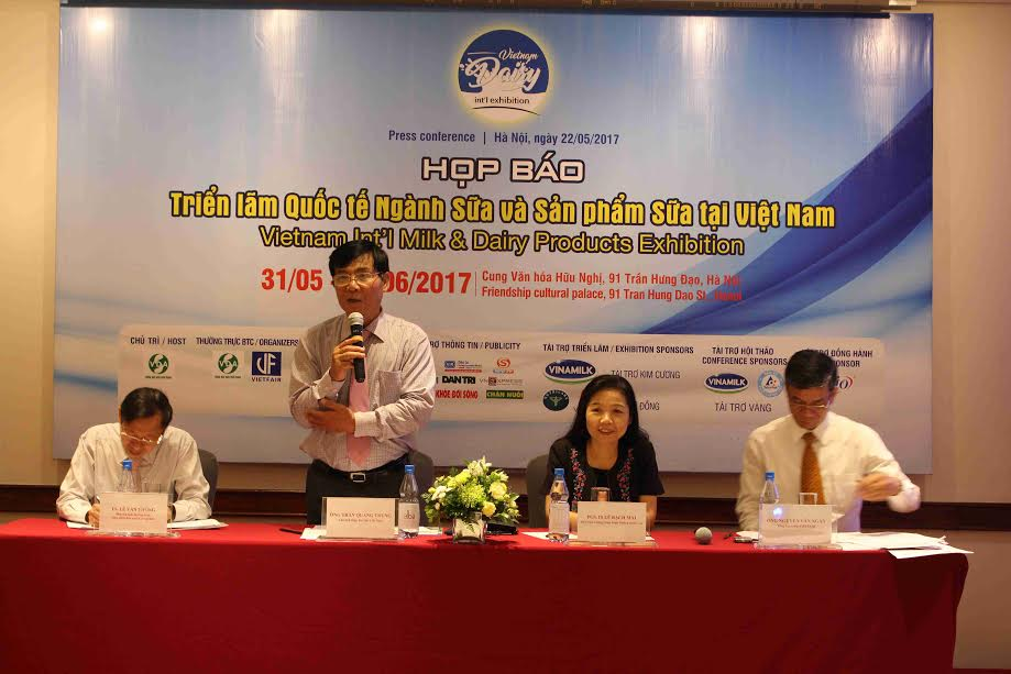 Première exposition internationale Dairy Vietnam