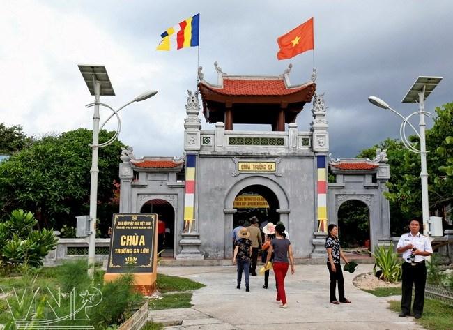 La pagode de Truong Sa Lon, une « borne religieuse » aux confins du pays