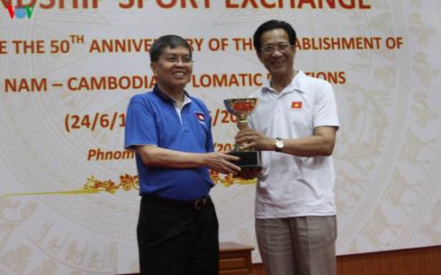 Un événement culturel et sportif Vietnam-Cambodge