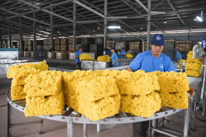 Les exportations nationales de caoutchouc en forte croissance depuis janvier