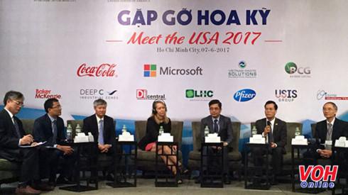 """""""Rencontre avec les Etats-Unis 2017"""" pour encourager l'investissement américain au Vietnam"""