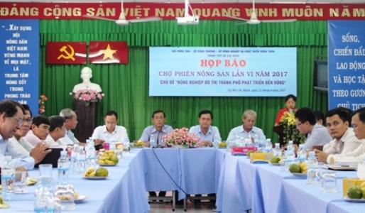 Hô Chi Minh-Ville : 160 stands à la 6e Foire des produits agricoles