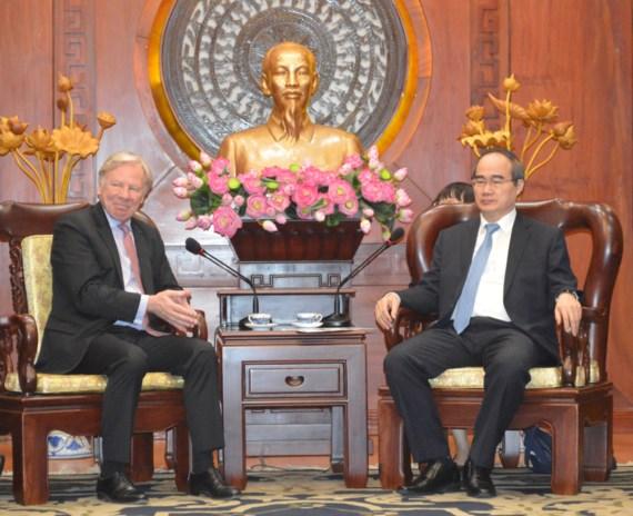 Hô Chi Minh-Ville et Microsoft intensifient la coopération