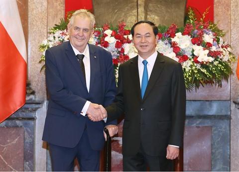 Porter les relations Vietnam - R. tchèque à une nouvelle hauteur