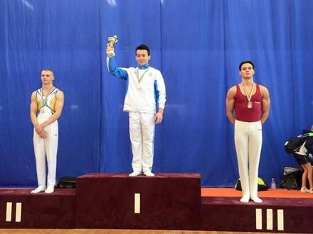 Gyms aux agrès: les Vietnamiens médaillés d
