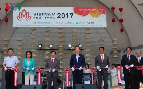 Le Festival du Vietnam 2017 commence au Japon