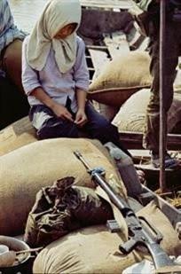 Exposition sur la guerre du Vietnam à Caen, en France
