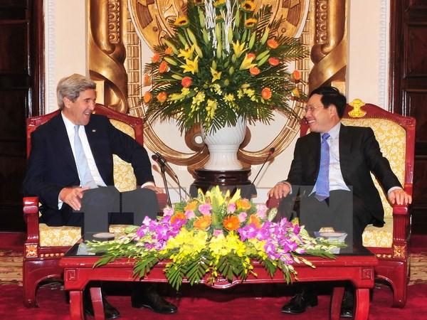 Le vice-PM Pham Binh Minh reçoit l