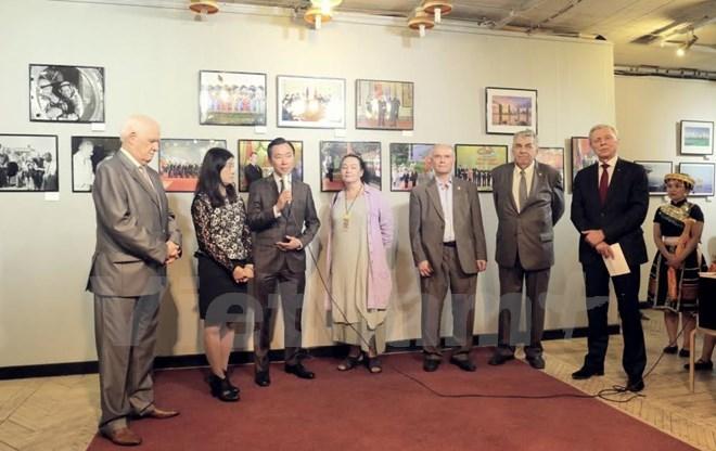 Exposition sur les terres et les peuples du Vietnam en Russie