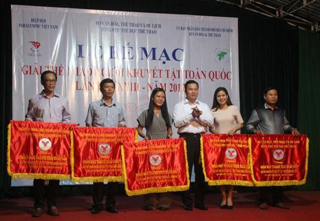 HCM-V remporte beaucoup de médailles au tournoi national handisport