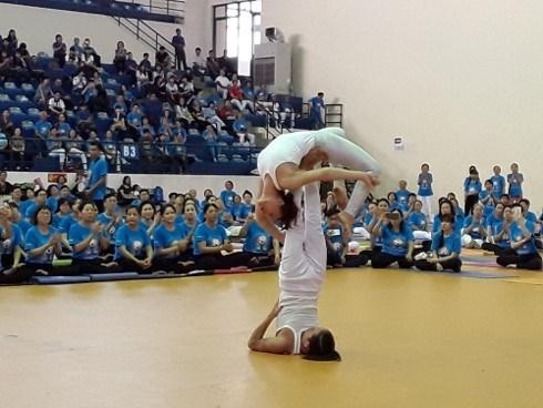 Journée du Yoga à Can Tho