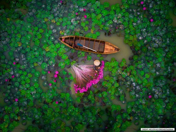 Une photo prise au Vietnam gagne le concours photo Dronestagram