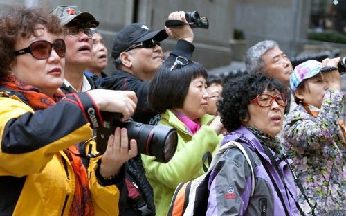 Forte hausse du nombre de visiteurs chinois et russes au Vietnam