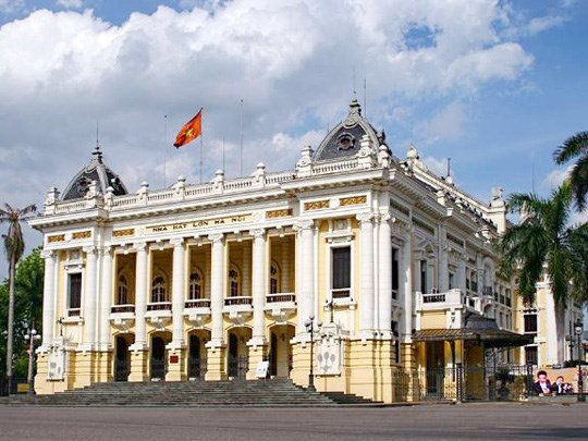 La visite virtuelle de l'Opéra de Hanoï est désormais possible