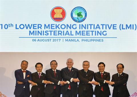 Ouverture de la 10e conférence des ministres des AE de l'initiative du bas-Mékong