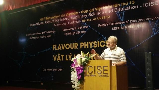 Conférence scientifique sur la physique de la saveur