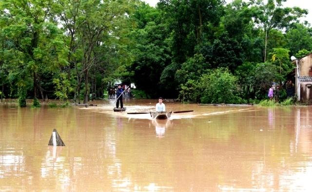 Quang Ninh: 2 milliards de dongs pour les victimes des inondations