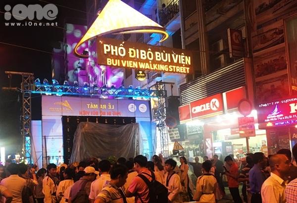 HCM-V: Inauguration de la rue piétonne Bui Viên