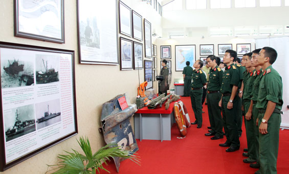 L'exposition sur Hoàng Sa et Truong Sa du Vietnam à Thai Nguyên