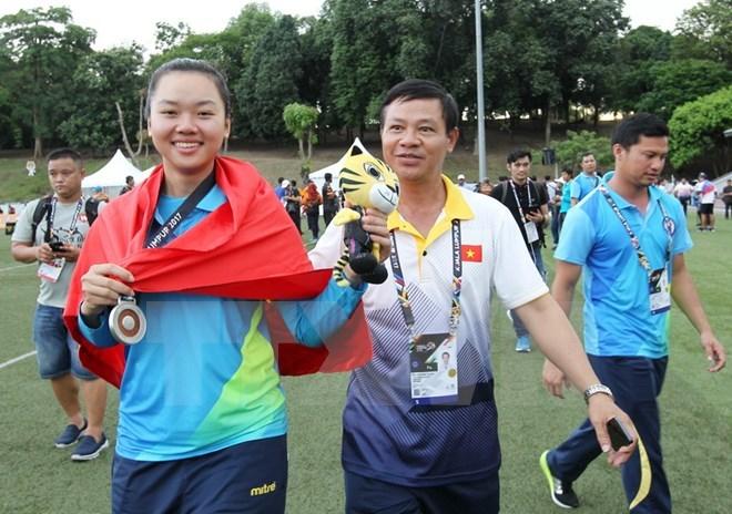 Première médaille vietnamienne aux SEA Games 29