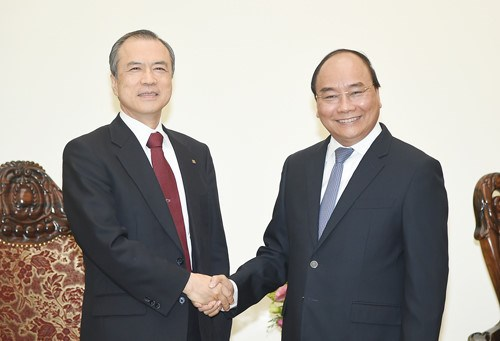 Le Premier ministre souligne l'importance de la coopération entre le Vietnam et Tokyo Gas