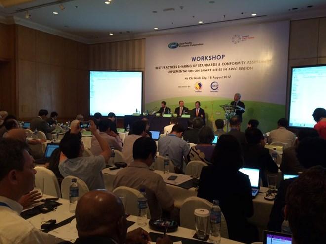 Début de la 3e conférence des hauts officiels de l'APEC à Ho Chi Minh-Ville