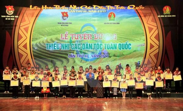 Des enfants des 54 ethnies nationales à l'honneur