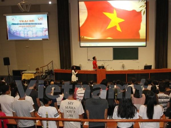 Ouverture du camp d'été des jeunes  Vietnamiens en Europe