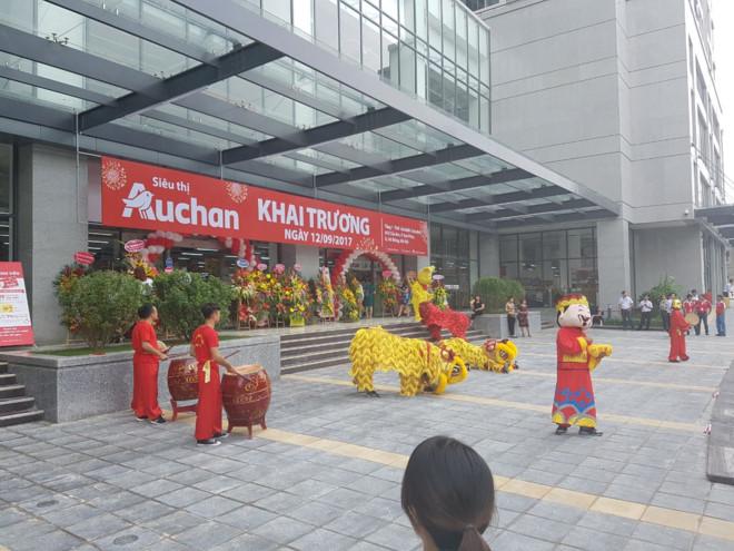 Auchan inaugure son 15ème supermarché au Vietnam