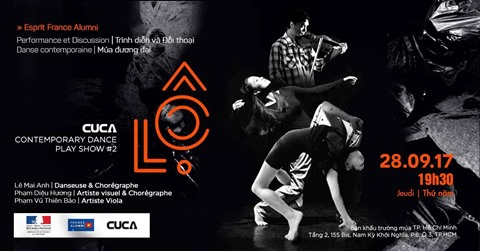 Rendez-vous au spectacle de danse contemporaine Lộ