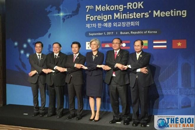 Conférence des ministres des Affaires étrangères Mékong-R. de Corée