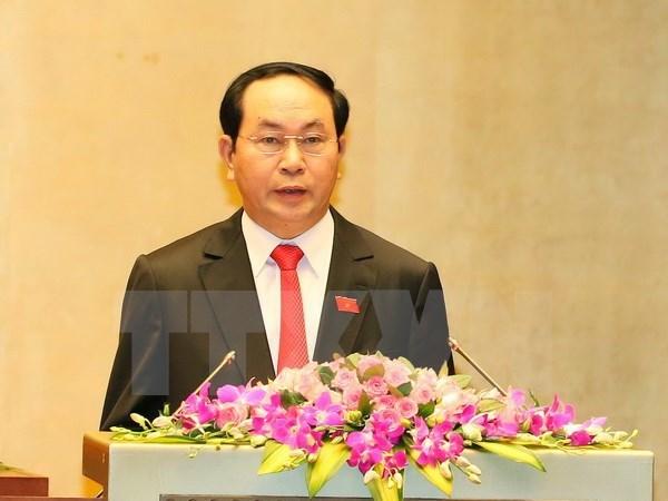Année scolaire 2017-2018 : félicitations du président Tran Dai Quang